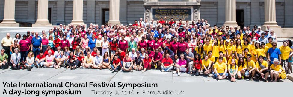 Yale International Choral Festival Symposium