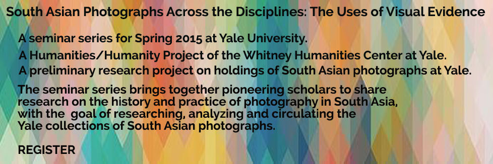 South Asian Photographs Across the Disciplines
