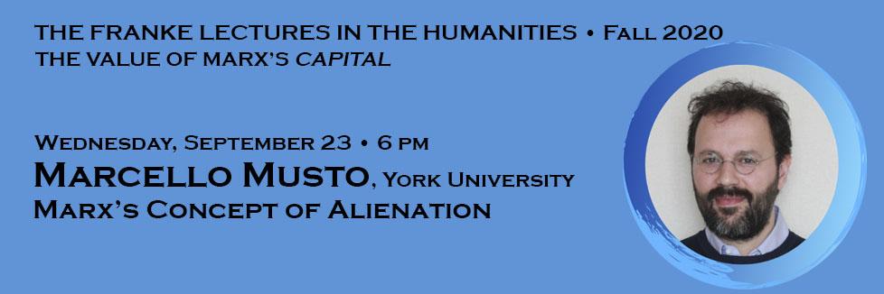 Marcello Musto, York University