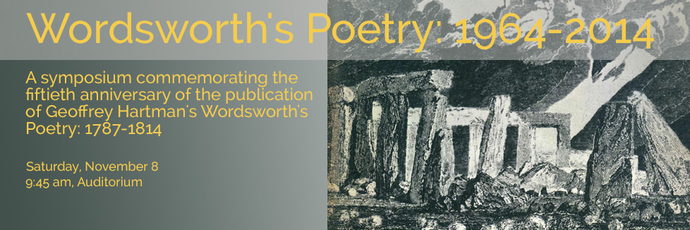 Wordsworth's Poetry: 1964-2014